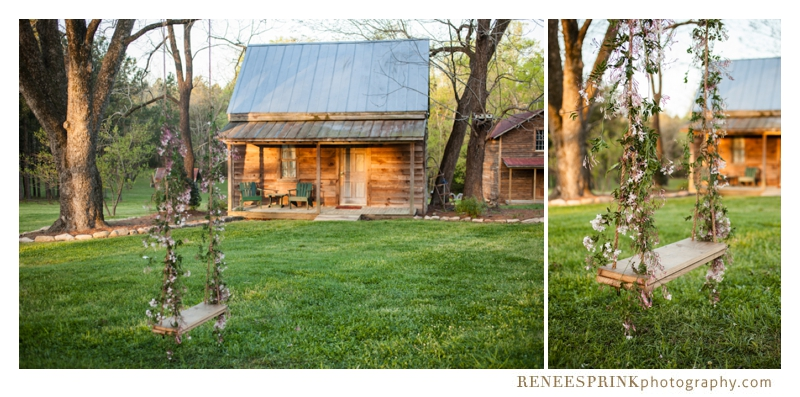 photos of a rustic wedding on a southern NC plantation