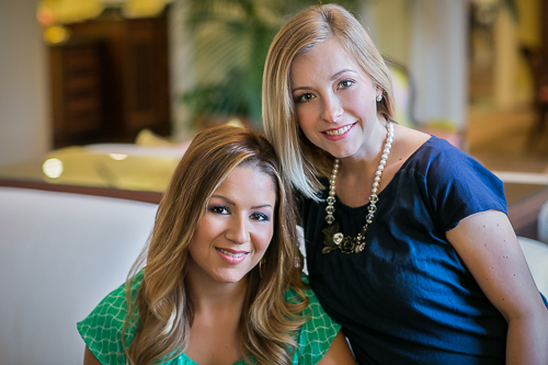 Jennifer House & Jennifer Buenviaje, owners of Makeup for Your Day in Raleigh, NC