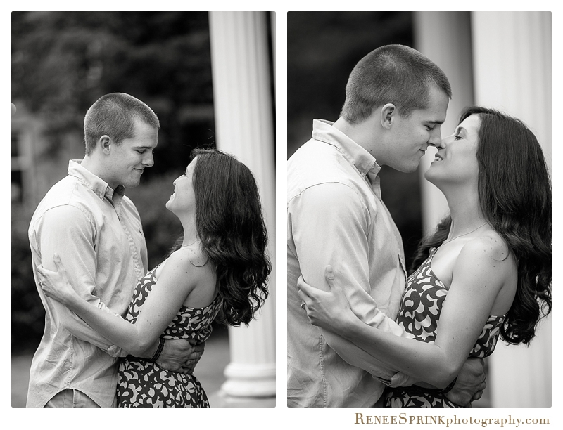 UNC Chapel Hill engagement photos-2