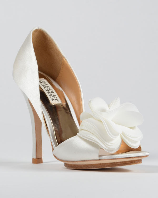 Fashionista Friday Badgley Mischka Wedding Shoes The Randall